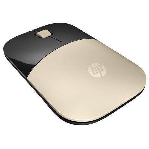 Фото Мышка HP Z3700 WL (X7Q43AA) Gold