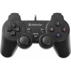 Фото Игровые манипуляторы Defender Omega USB (64247)