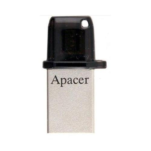 Фото Накопитель Apacer AH175 32GB OTG Mobile USB 2.0 Black (AP32GAH175B-1)