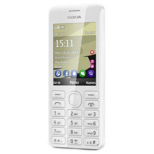 Фото Мобильный телефон Nokia Asha 206 Dual Sim White