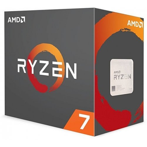 Фото Процессор AMD Ryzen 7 1800X 3.6(4.0)GHz sAM4 Box (YD180XBCAEWOF)