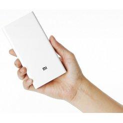 Фото Универсальный аккумулятор Xiaomi Mi Power Bank 2 20000 mAh (PLM05ZM) White