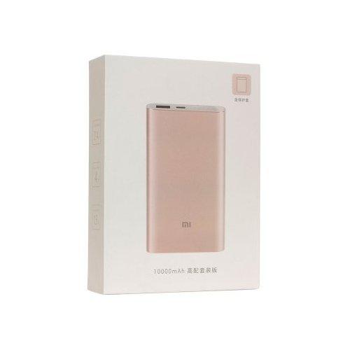 Фото Внешний аккумулятор Xiaomi Mi Power Bank 10000 mAh Pro Rose Gold