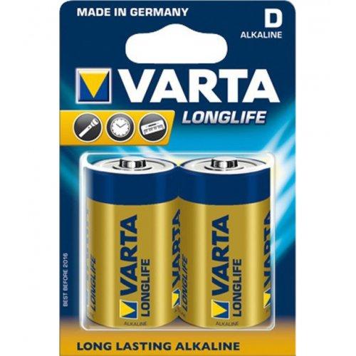 Фото Батарейки Varta D (LR20) Longlife 2шт (04120101412)