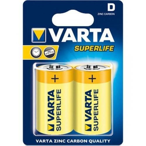Фото Батарейки Varta D (LR20) Superlife Zinc-Carbon 2шт (02020101412)