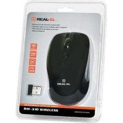 Фото Мышка REAL-EL RM-310 USB Black