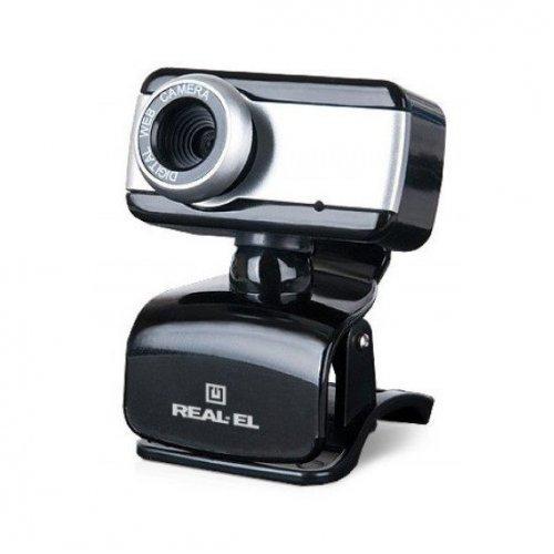 Фото Веб-камера REAL-EL FC-130 Black