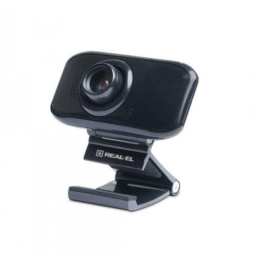 Фото Веб-камера REAL-EL FC-250 Black