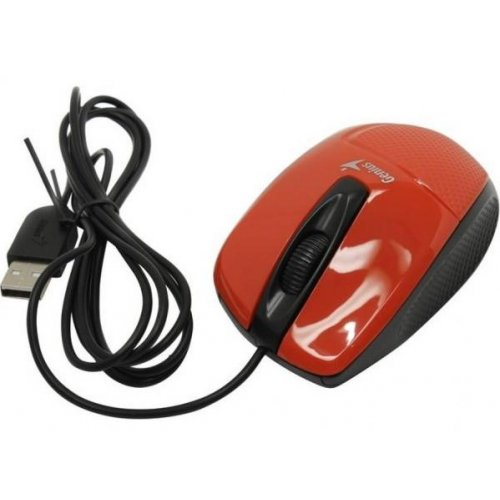 Фото Мышка Genius DX-150X USB (31010231101) Red/Black