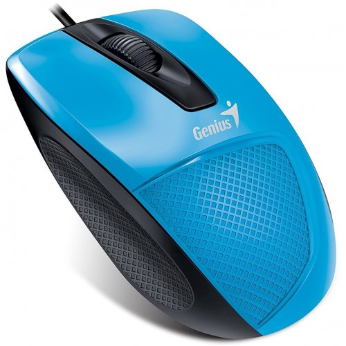 Фото Мышка Genius DX-150X USB (31010231102) Blue/Black