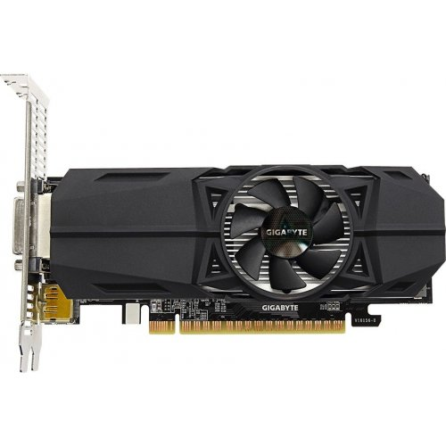 Фото Видеокарта Gigabyte GeForce GTX 1050 TI OC Low Profile 4096MB (GV-N105TOC-4GL)