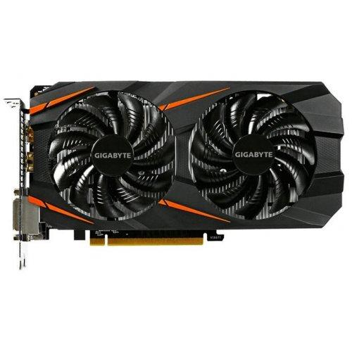 Фото Видеокарта Gigabyte GeForce GTX 1060 WindForce 2X 3072MB (GV-N1060WF2-3GD)