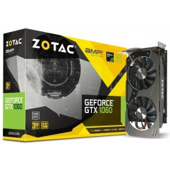 Фото Видеокарта Zotac GeForce GTX 1060 AMP! Edition 3072MB (ZT-P10610E-10M)