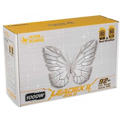 Фото Блок питания Super Flower Ledex II Gold 1000W (SF-1000F14EG) Black
