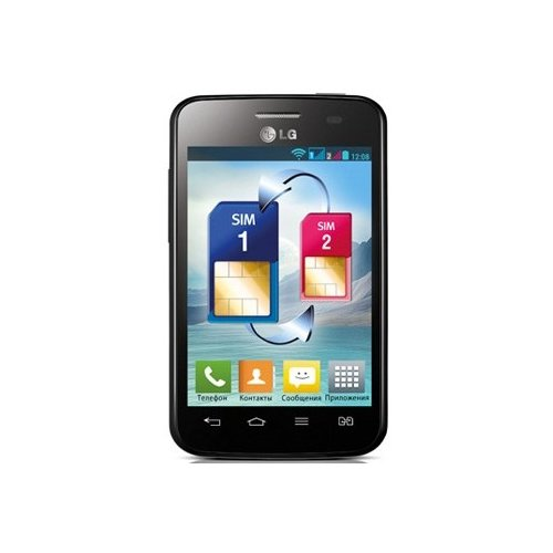 Фото Смартфон LG Optimus L3 II Dual E435 Black