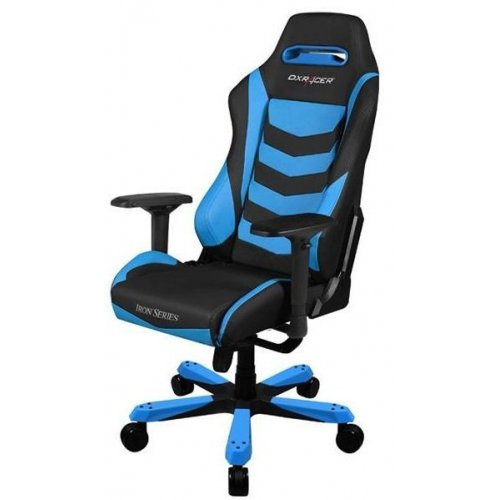 Фото Игровое кресло DXRacer IRON (OH/IS166) Black/Blue