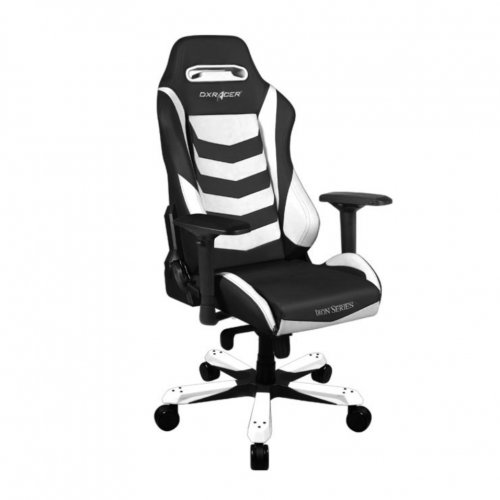 Фото Игровое кресло DXRacer IRON (OH/IS166) Black/White