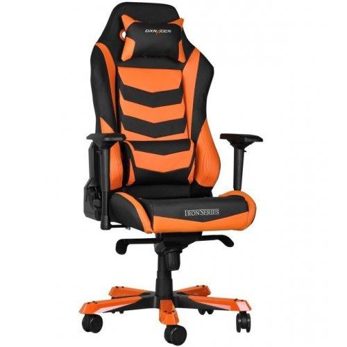 Фото Игровое кресло DXRacer IRON (OH/IS166) Black/Orange
