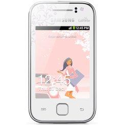 Фото Смартфон Samsung Galaxy Y S5360 White La Fleur