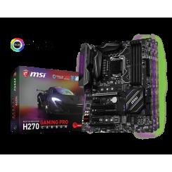 Фото Материнская плата MSI H270 GAMING PRO CARBON (s1151, Intel H270)