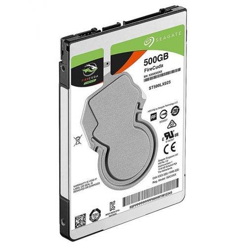 Фото Жесткий диск Seagate FireCuda (SSHD) 500GB 128MB 5400RPM 2.5'' (ST500LX025)