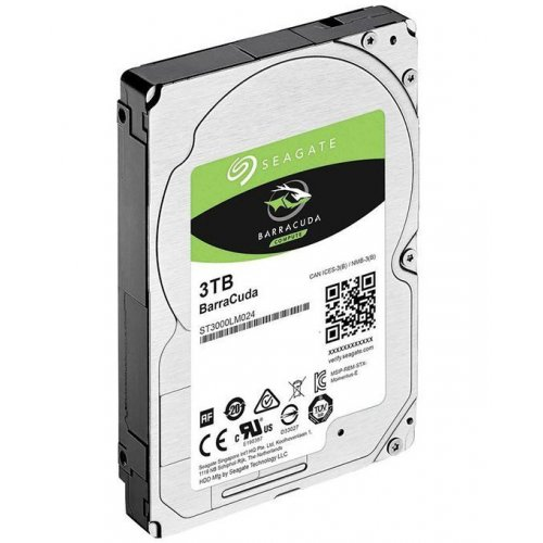 Фото Жесткий диск Seagate BarraCuda 3TB 128MB 5400RPM 2.5'' (ST3000LM024)