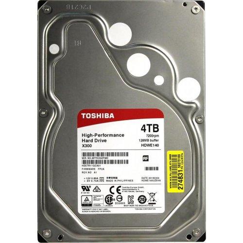 Фото Жесткий диск Toshiba 4TB 128MB 7200RPM 3.5'' (HDWE140UZSVA)
