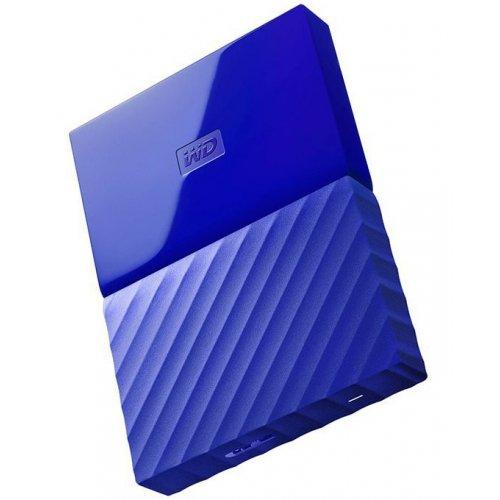 Фото Внешний HDD Western Digital My Passport 1TB (WDBYNN0010BBL-WESN) Blue