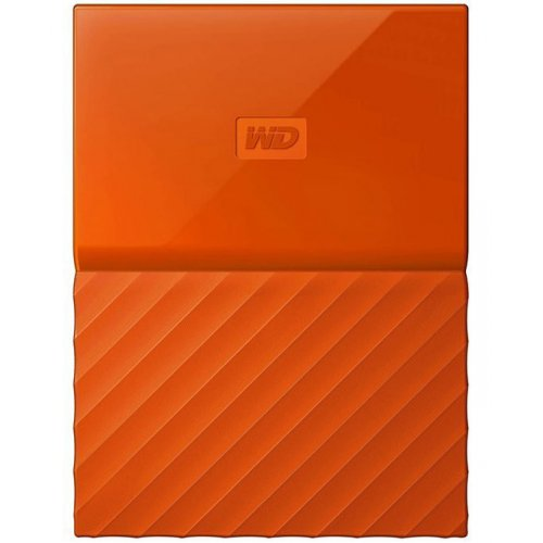 Фото Внешний HDD Western Digital My Passport 1TB (WDBYNN0010BOR-WESN) Orange