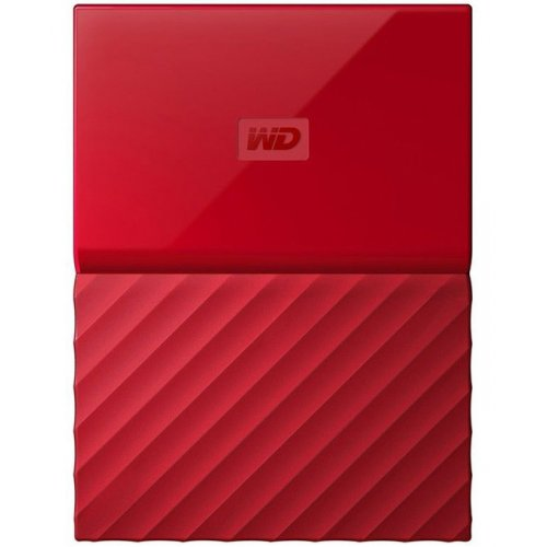 Фото Внешний HDD Western Digital My Passport 1TB (WDBYNN0010BRD-WESN) Red