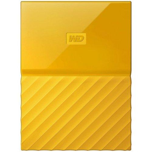 Фото Внешний HDD Western Digital My Passport 1TB (WDBYNN0010BYL-WESN) Yellow
