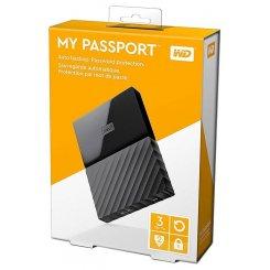 Фото Внешний HDD Western Digital My Passport 3TB (WDBYFT0030BBK-WESN) Black