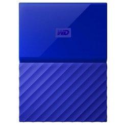 Фото Внешний HDD Western Digital My Passport 3TB (WDBYFT0030BBL-WESN) Blue