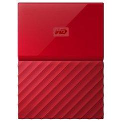 Фото Внешний HDD Western Digital My Passport 3TB (WDBYFT0030BRD-WESN) Red