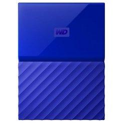 Фото Внешний HDD Western Digital My Passport 4TB (WDBYFT0040BBL-WESN) Blue