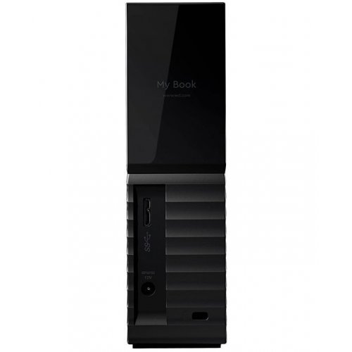 Фото Внешний HDD Western Digital My Book (NEW) 4TB (WDBBGB0040HBK-EESN) Black