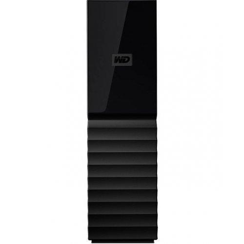 Фото Внешний HDD Western Digital My Book (NEW) 8TB (WDBBGB0080HBK-EESN) Black