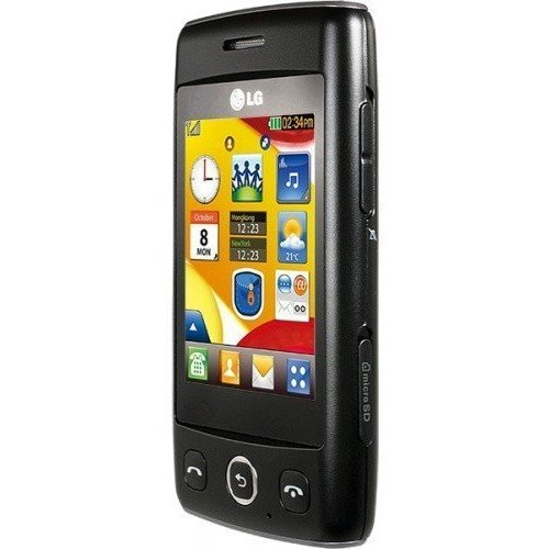 Фото Мобильный телефон LG T300 Cookie Lite Black Titan Silver