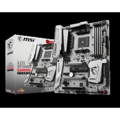 Фото Материнская плата MSI X370 XPOWER GAMING TITANIUM (sAM4, AMD X370)