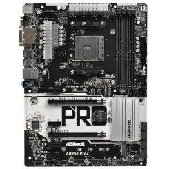 Фото Материнская плата AsRock AB350 Pro4 (sAM4, AMD B350)