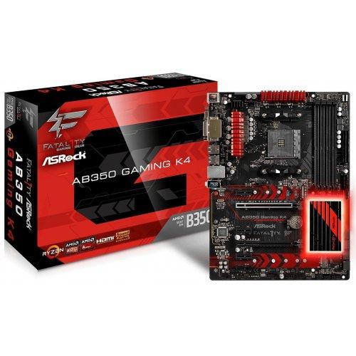 Фото Материнская плата AsRock FATAL1TY AB350 GAMING K4 (sAM4, AMD B350)