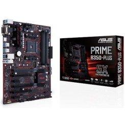 Фото Материнская плата Asus PRIME B350-PLUS (sAM4, AMD B350)