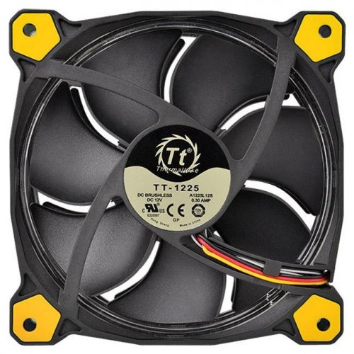 Фото Кулер для корпуса Thermaltake Riing 14 Yellow (CL-F039-PL14-A)