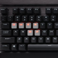 Фото Клавиатура Corsair K70 LUX Mechanical Gaming Cherry MX Red (CH-9101020-NA)