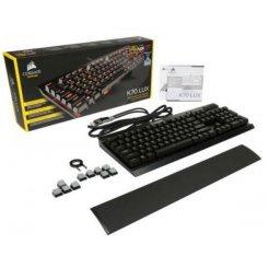 Фото Клавиатура Corsair K70 LUX Mechanical Gaming Cherry MX Brown (CH-9101022-NA)