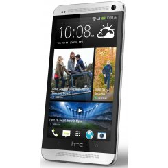 Фото Смартфон HTC One 801e Glacier White