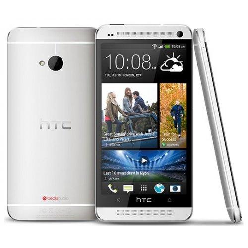 Фото Смартфон HTC One 801e Glacier White