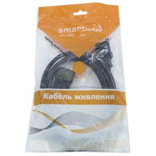 Фото Кабель-удлинитель Smartfortec C13-C14 1.8m 0.75mm UPS (PCS-189-VDE) Black