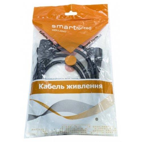 Фото Кабель-удлинитель Smartfortec C13-C14 1.8m VDE 0.5mm UPS (PCS-189) Black
