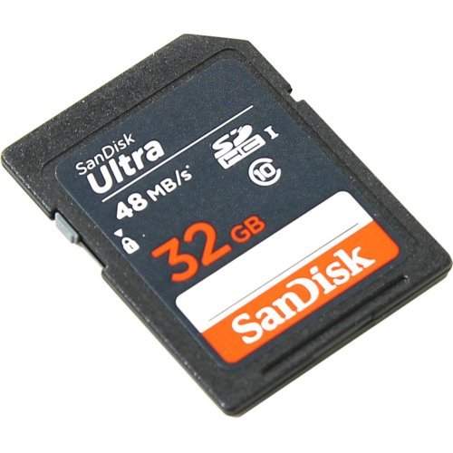 Фото Карта памяти SanDisk SDHC 32GB Class 10 UHS-I (SDSDUNB-032G-GN3IN)